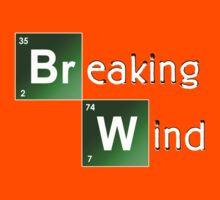 Breaking Wind - Parody T shirt Kids Clothes