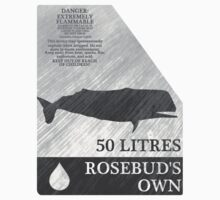 Whale Oil Bottle Label by universalfreak