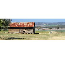 farming country shed Photographic Print