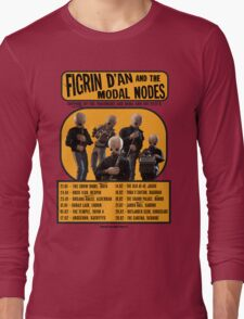The Cantina Band Tour Poster Long Sleeve T-Shirt