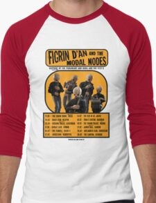 The Cantina Band Tour Poster Men's Baseball ¾ T-Shirt