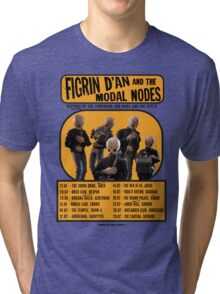 The Cantina Band Tour Poster Tri-blend T-Shirt