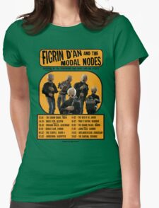 The Cantina Band Tour Poster Womens Fitted T-Shirt