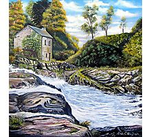The Mill on the River Photographic Print