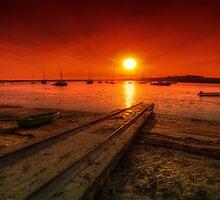 Alvor Sunset  by manateevoyager