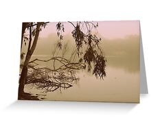 Gentle Shivers By Lorraine McCarthy Greeting Card