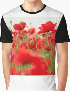 poppy field Graphic T-Shirt