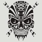 The Devil Inside - Cool Skull Vector T Shirt Design by Denis Marsili - DDTK