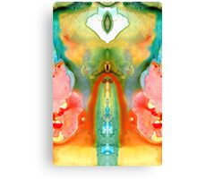 The Goddess - Abstract Art By Sharon Cummings Canvas Print