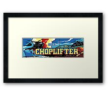 Choplifter Arcade Framed Print
