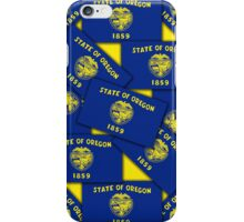 Smartphone Case - State Flag of Oregon - Multiple III iPhone Case/Skin