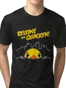 Release The Quacken Tri-blend T-Shirt