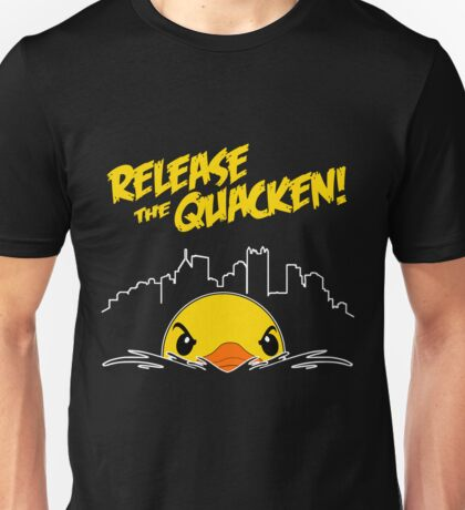 Release The Quacken Unisex T-Shirt