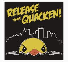 Release The Quacken Sticker by AngryMongo
