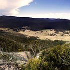 Orroral Valley Panorama by Mossrocket