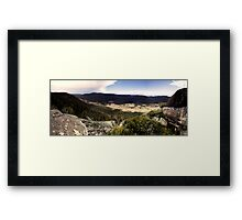 Orroral Valley Panorama Framed Print