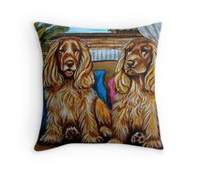 The Poofers Throw Pillow