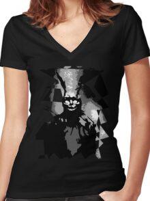 Frank Women's Fitted V-Neck T-Shirt