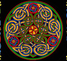 Celtic Illumination - Trinity Circle by William Martin