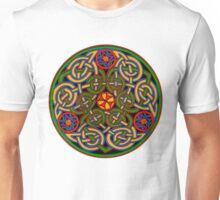 Celtic Illumination - Trinity Circle Unisex T-Shirt