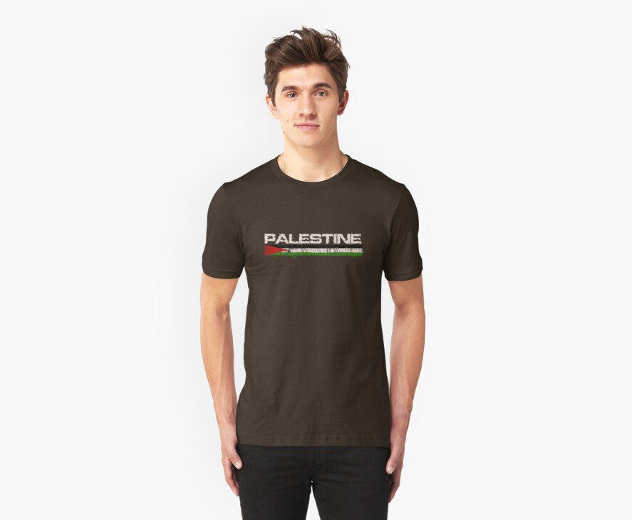 Palestine with Falg T shirts, iphone Covers and Cards by darweeshq