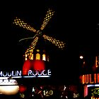 Moulin by night by Gary Power