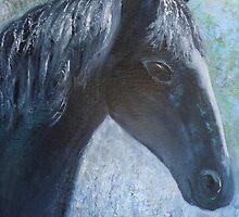 'Phoenix' ( a rescue horse) by Jacqueline Eirian McKay