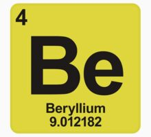 Element Be Beryllium by SignShop