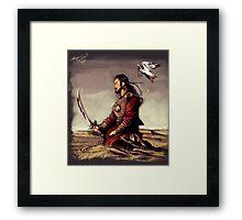 Temujin - Genghis Khan Framed Print
