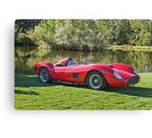 1959 Dino Ferrari 196S III Canvas Print