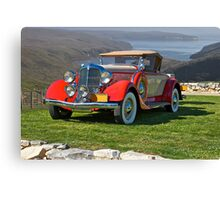 1934 Chrysler CA Roadster Canvas Print