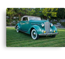 1937 Packard 120 Convertible Canvas Print