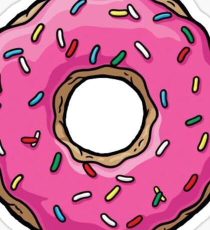 The Simpsons - Doughnut Sticker