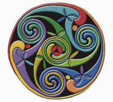 Celtic Illumination - Trinity Swirl II Kids Clothes