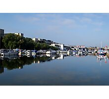 By The Brayford Photographic Print