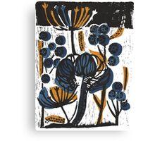 Natural Form Relief Print Canvas Print