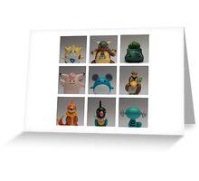 Pokemon Poster Greeting Card