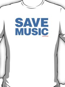 Save Music T-Shirt