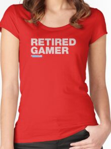 Retired Gamer Women's Fitted Scoop T-Shirt
