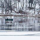 Winter fishing by Steven Ralser