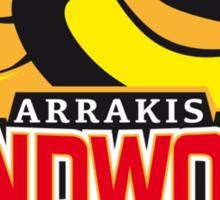 Sandworm Riders Sticker