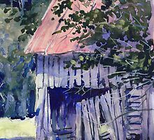 Cool Shade ( tennessee barn ) by COusley622