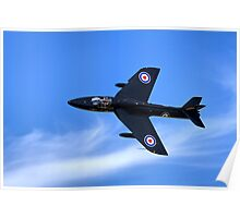 Hawker Hunter T.7A WV318 Poster