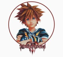 Sora - Kingdom Hearts III (Colored) Kids Clothes