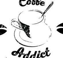 Coffee Addict Sticker