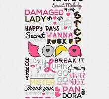 KARA Sweet Melody (Phone Case) by pinkbook