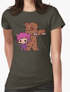 Annie and Tibbers Womens Fitted T-Shirt