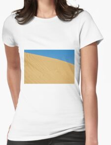 gold sand dune Womens Fitted T-Shirt