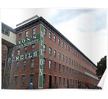 Historic Jersey City, Dixon Mills Factory, Converted to Residence, New Jersey Poster