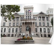 Historic Jersey City, City Hall,  New Jersey  Poster